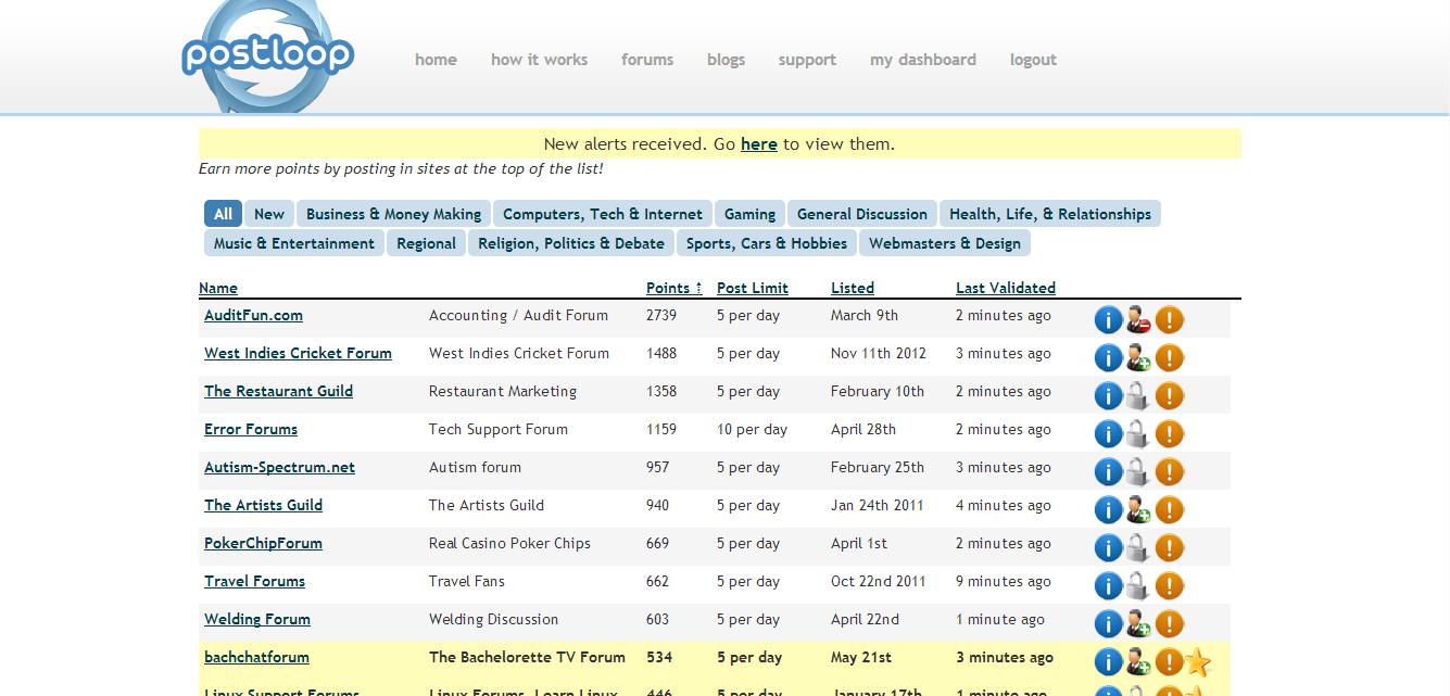PostLoop Forums