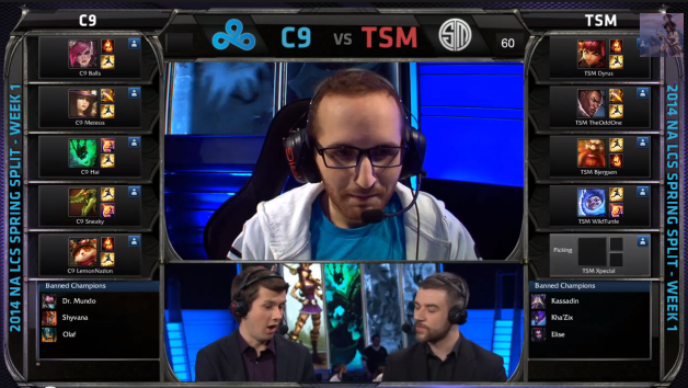 Teemo Picked in NA LCS 2014 by C9 vs TSM