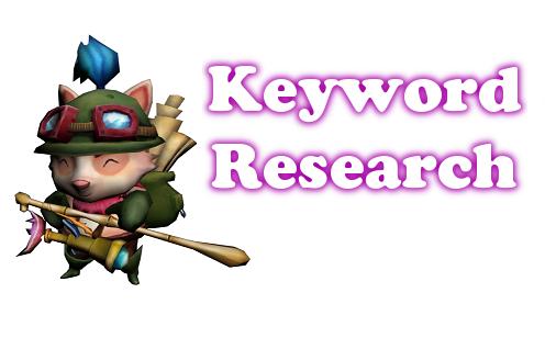 Teemo - Keyword Research