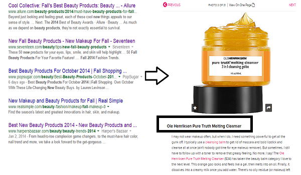 Beauty Product Search
