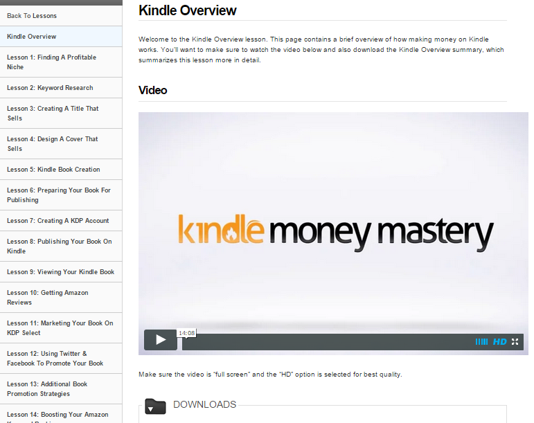 Kindle Money Mastery Backend