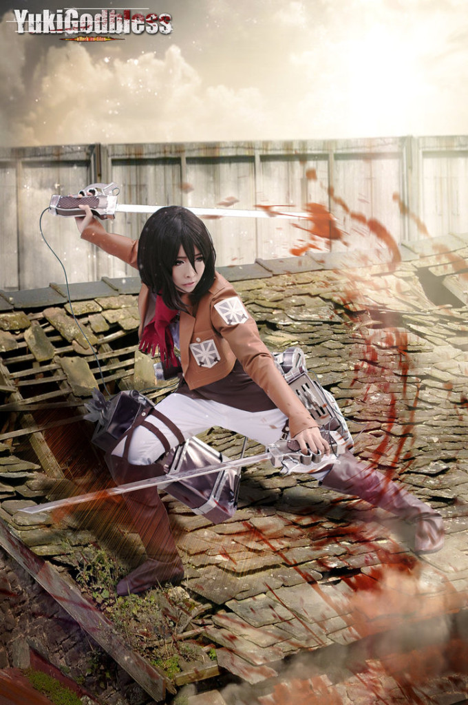 Attack on Titan Cosplay 7