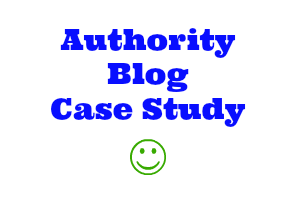 Authority Blog Case Study