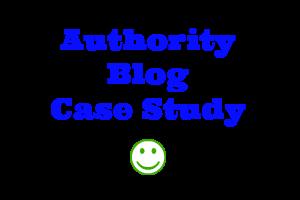 Authority Blog Case Study