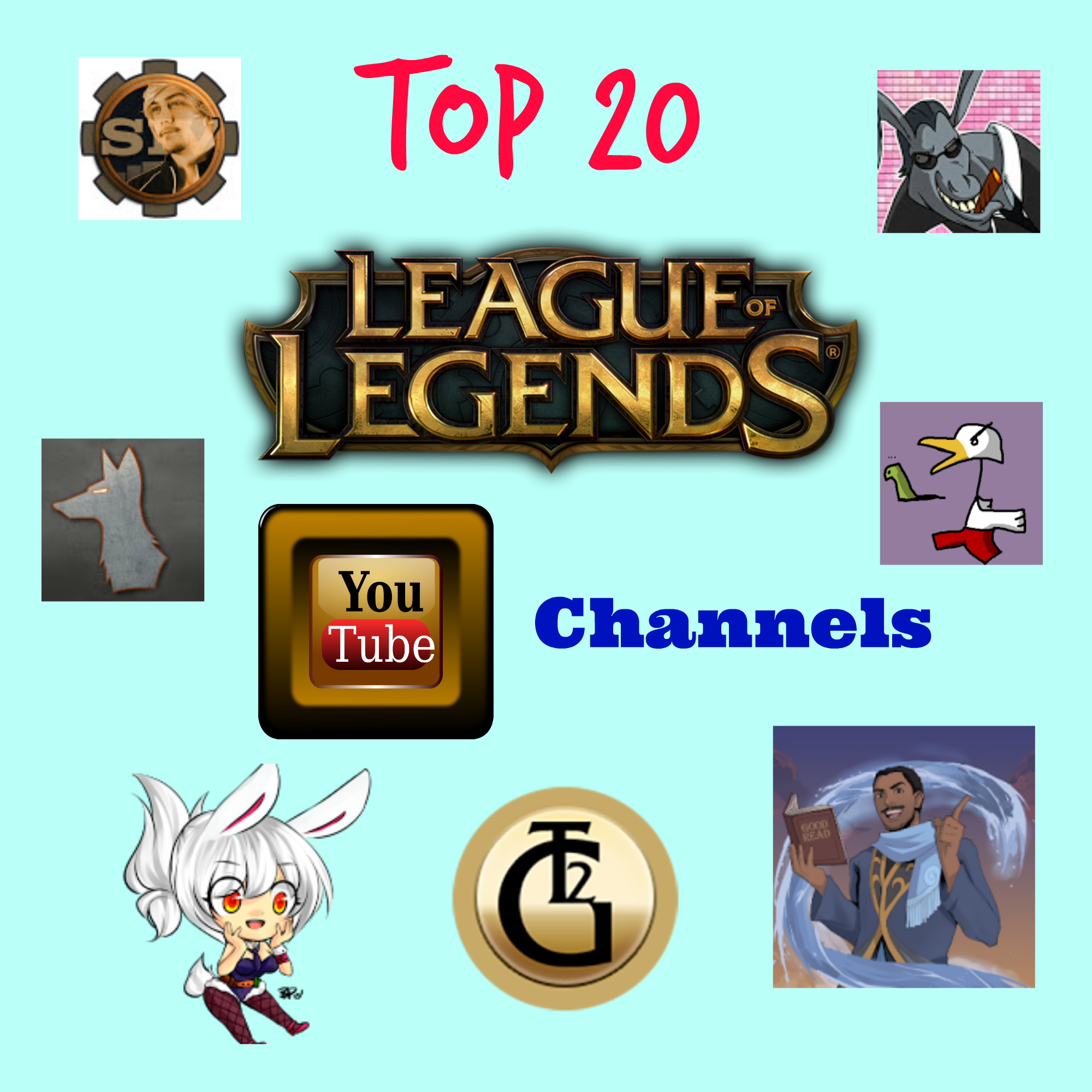 Best 20 YouTube Channels Thumbnail