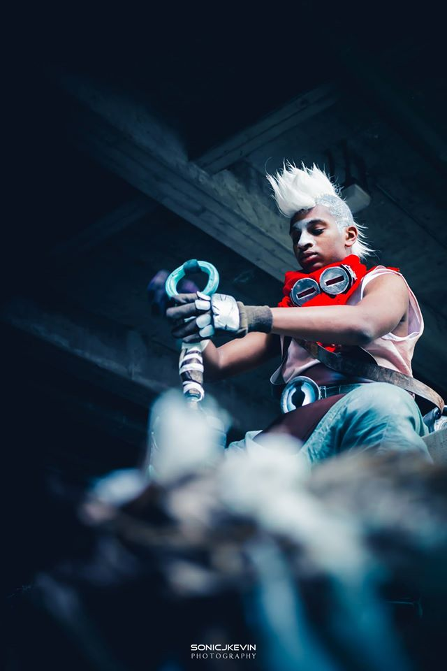 Ekko Cosplay Sonicjkevin and KaduOut