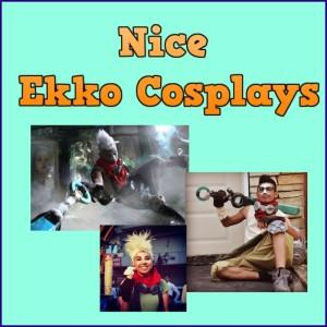 Ekko Cosplay Thumbnail