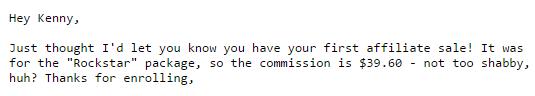 Affiliate Commissions S1