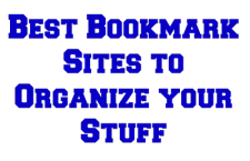 Best Bookmark Sites