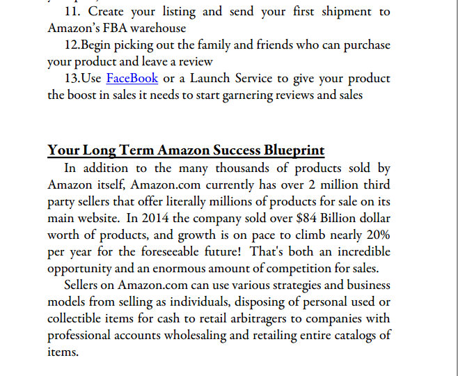 Crushing it With Amazon ebook page