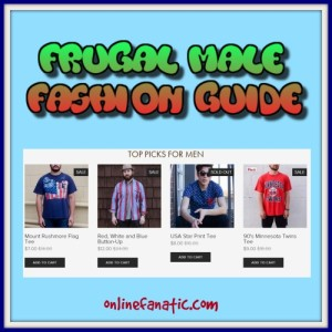 Frugal Male Fashion Tips
