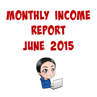 Monthly Income Report June 2015