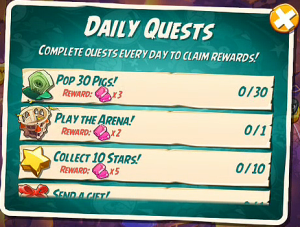 Angry Birds 2 Daily Quest