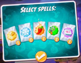 Angry Birds 2 Spell Cards