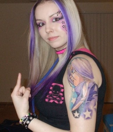 Anime Tattoo 1
