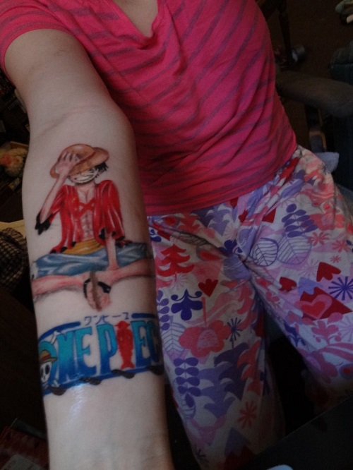 Anime Tattoo 2