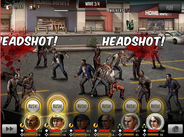 TWD Road to Survival Headshot