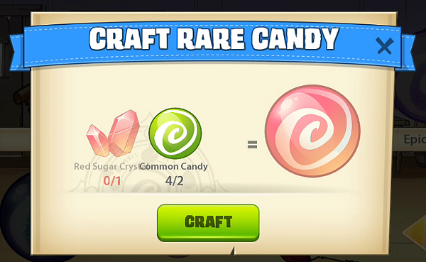 Mino Monsters 2 Rare Candy