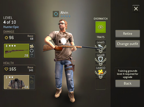 TWD No Mans Land Character