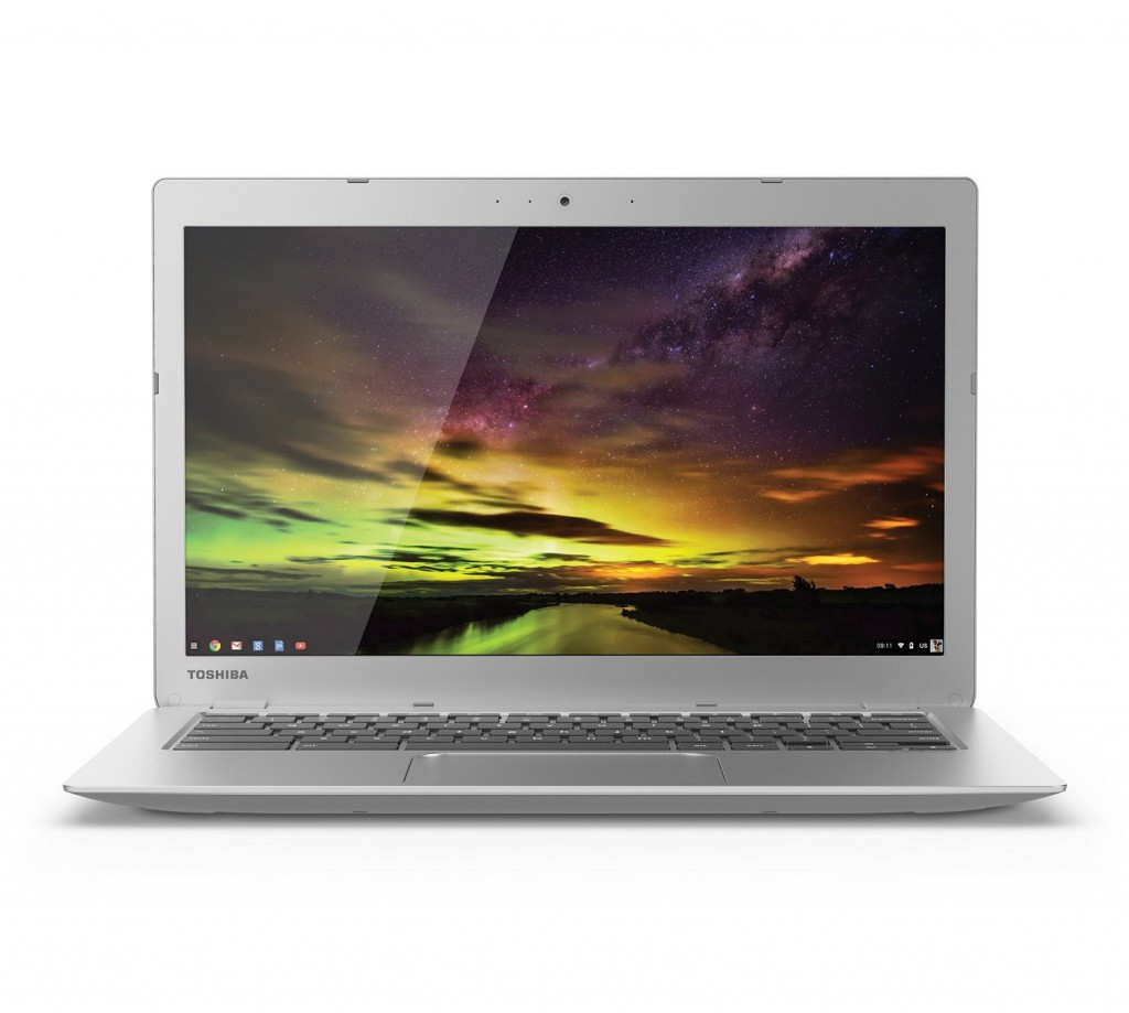 Toshiba Laptop Silver
