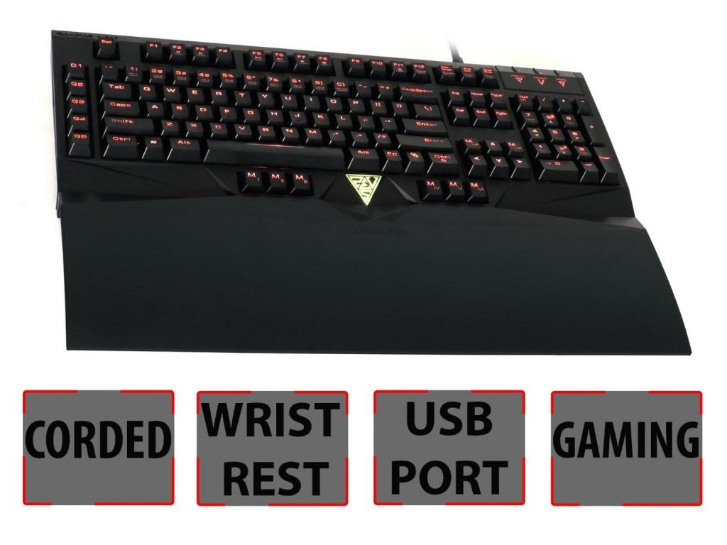 GAMDIAS Mechanical Keyboard Wrist Rest