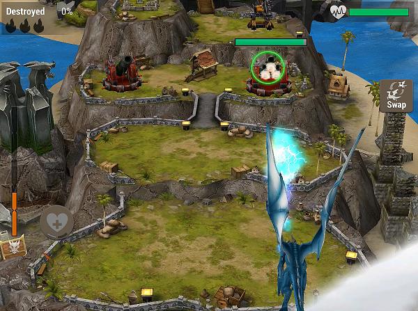 War Dragons Battle