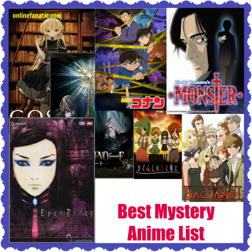 Best Mystery Anime List Recommendations