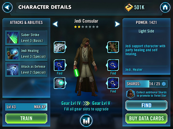 Jedi Consular Review