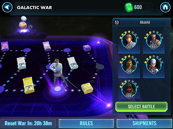 SWGOH Galactic War
