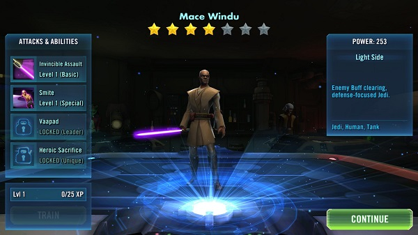 SWGOH Mace Windu Review