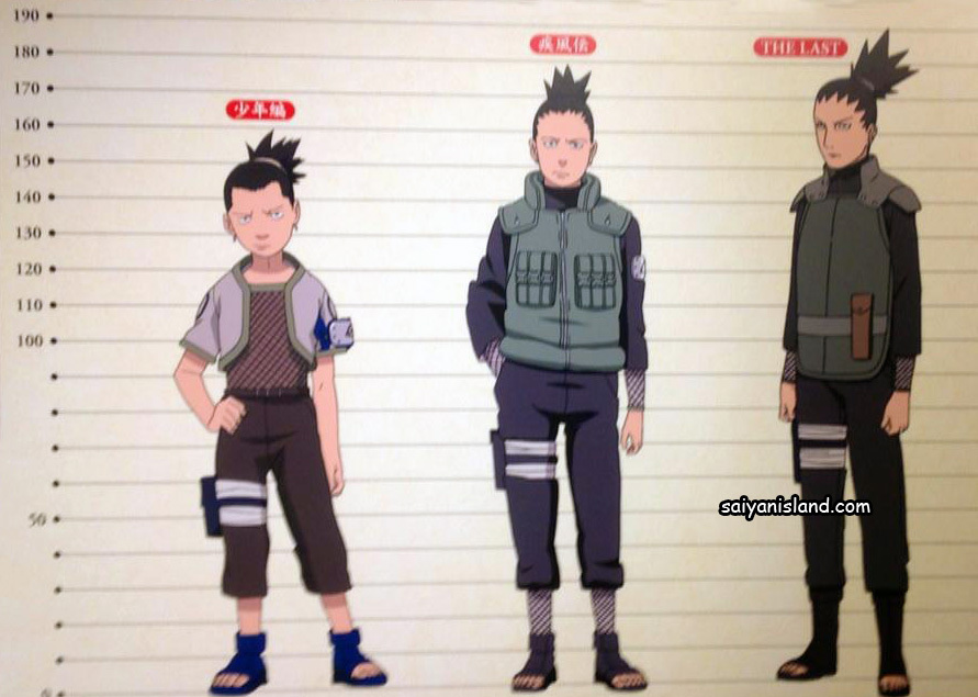 Shikamaru Evolution