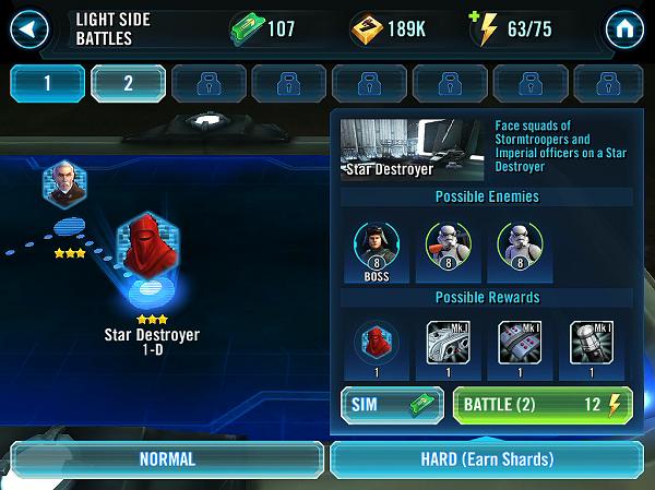 Star Wars Collect Hero Shards