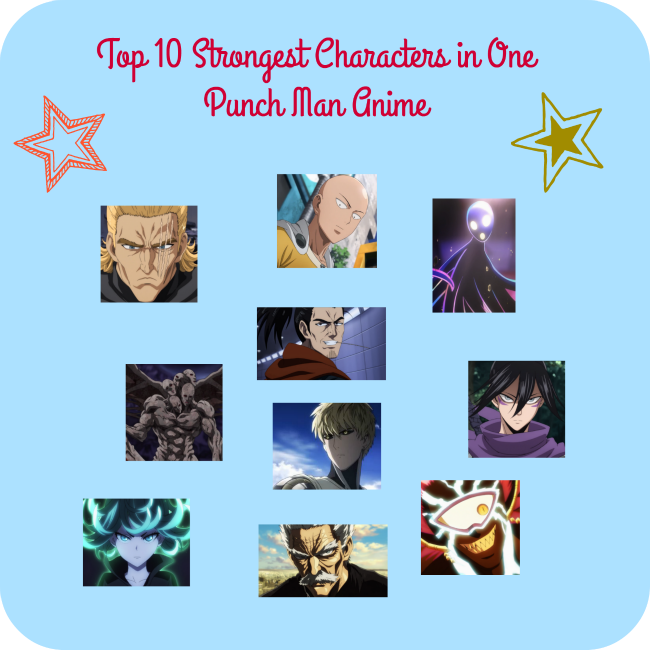 Strongest One Punch Man Characters