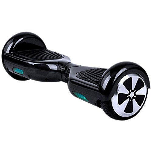 Black Self Balancing Scooter by Hovertech
