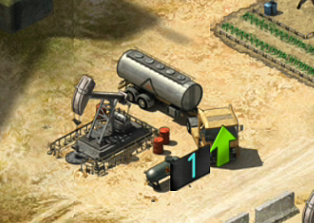 Mobile Strike Oil Well