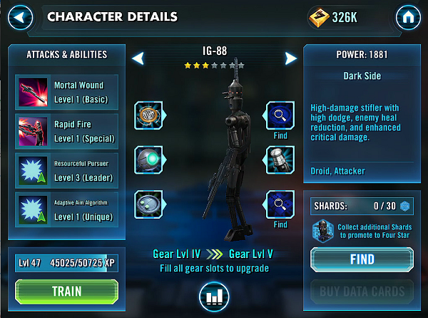 SWGOH IG-88 Review