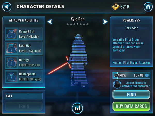 SWGOH Kylo Ren Review