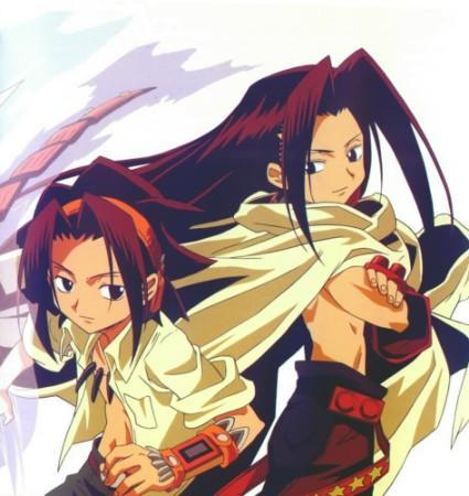 Yoh and Hao Asakura