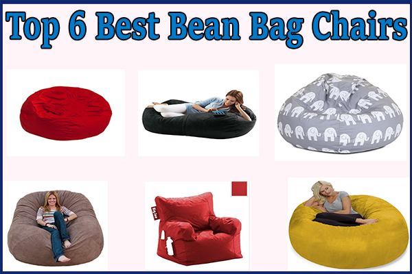 best bean bag chair Top 6 Best Bean Bag Chairs [Review]   For Both Adults and Kids  best bean bag chair