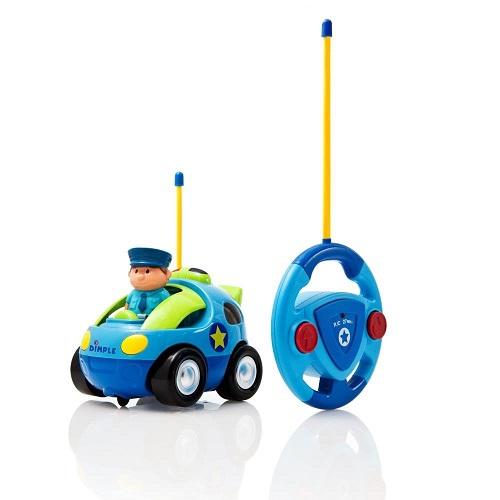 Dimple Cartoon Remote Control Police Car