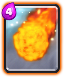 Fireball Card