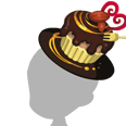 Chocolate Cake Hat