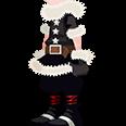 Halloween Santa Sora Costume