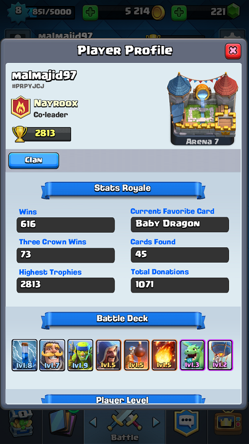 Legendary Arena 8 F2p Deck Clash Royale