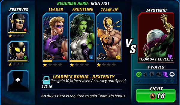 MAA2 Battle Screen