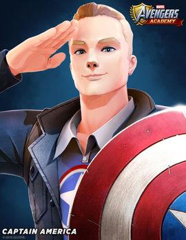 Marvel Avengers Academy Captain America