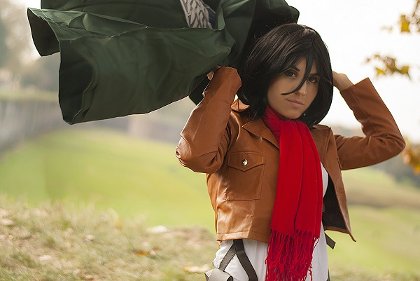Mikasa Cosplay 4