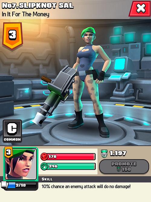 Raid HQ Characters