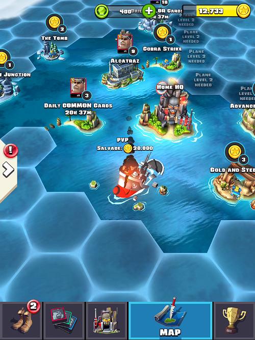 Raid HQ Map