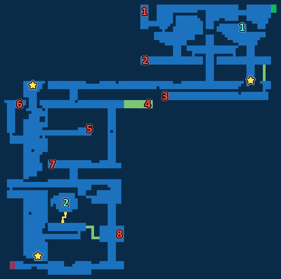 FFBE Grandshelt Catacombs Exploration Map